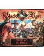 Pinball Bally Black Rose