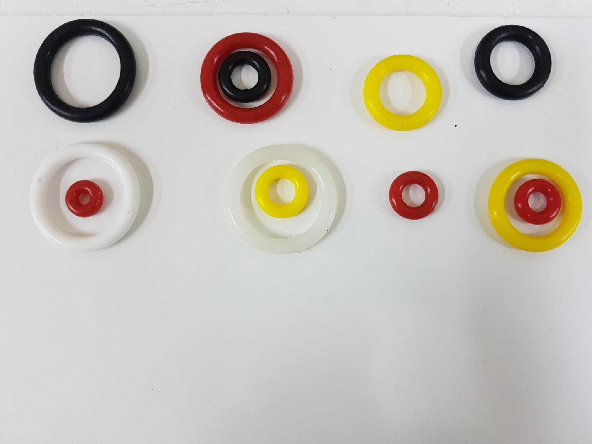 gomas de colores